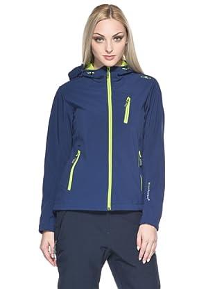 F.lli Campagnolo Damen Softshell Jacke (blau)
