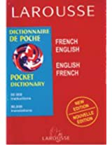 Larousse Pocket Dictionary: Pocket French Dictionary
