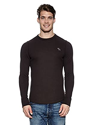 Abercrombie & Fitch Pullover Classic Crew (dunkelbraun)