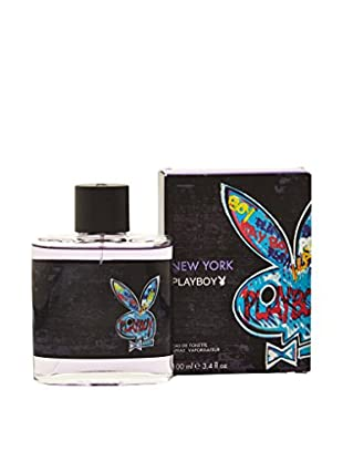 Playboy Eau de Toilette Herren New York 100.0 ml, Preis/100 ml: 8.99 EUR