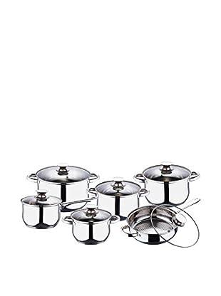 Blaumann Set Batería de cocina 12 Piezas Jumbo