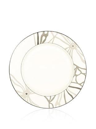 Noritake Everyday Elegance Campania Round Platter (White/Taupe)