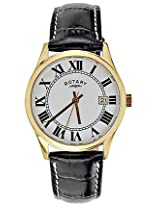 Rotary Black Analog Men Watch GS0272401