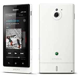 Sony Ericsson Xperia Sola MT27i (White)