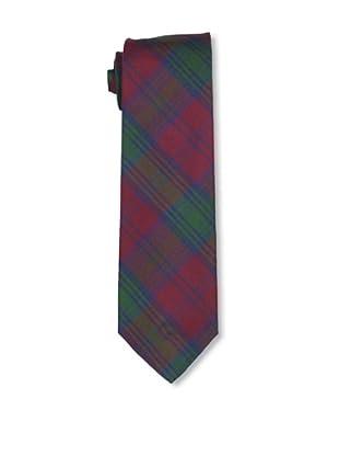 Desanto Men's Capri Tie, Bordeaux/Green
