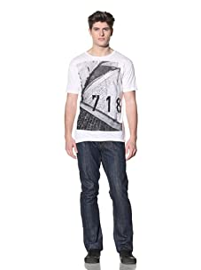MG Black Label Men's 718 T-Shirt (White)