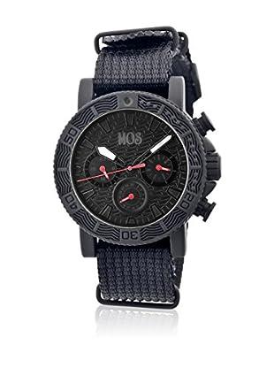 Mos Reloj con movimiento cuarzo japonés Mossp102 Negro 45  mm