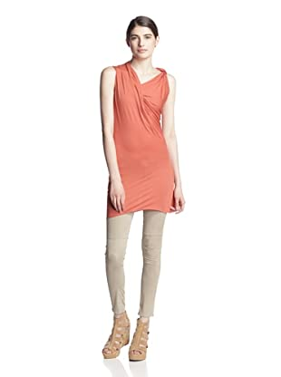 Rick Owens Lilies Women's Side Drape Top (Orange)
