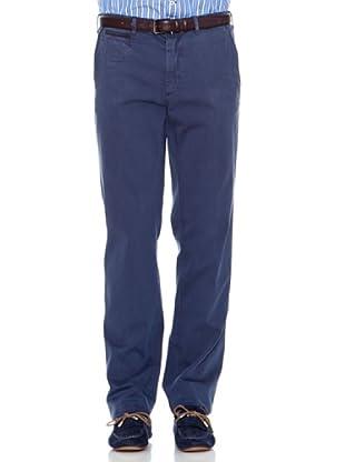 Pedro del Hierro Pantalón Liso (Azul oscuro)