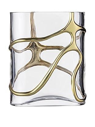 Eisch Stargate Vase, Gold