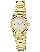 Sonata  Analog White Dial Women's Watch -  ND8925YM01J