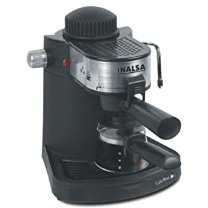 Inalsa Café Real 650-Watt Espresso Coffee Maker