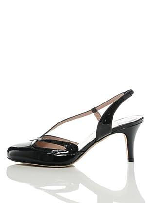 Furla Zapatos Salón Sandalias Carissa (Negro)