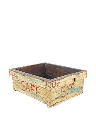 Reclaimed Wood Garden Box, Yellow