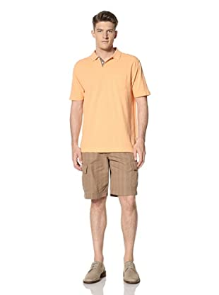Cutter and Buck Men's Rainy Day Pique Polo (apricot)