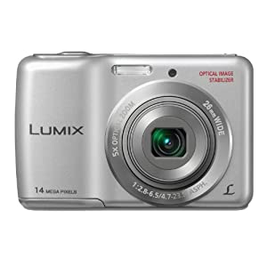 Panasonic Lumix DMC-LS5GW-S 14.1MP Point-and-Shoot Digital Camera (Silver) with SD Card, Carry Case