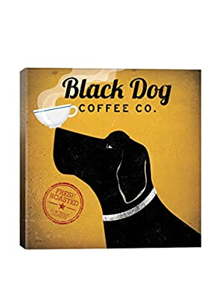 Ryan Fowler Black Dog Coffee Co. Gallery Wrapped Canvas Print