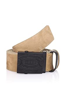 Diesel Men's Plaq Service Belt (Tan)