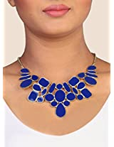 Beautiful Blue Statement Necklace