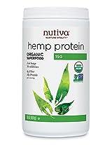 Nutiva Organic Hemp Protein 15 g, 16-Ounce Container
