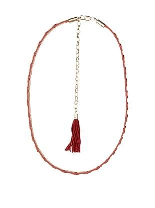Cortefiel Cinturón Lingotes (Rojo)