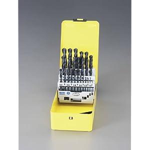 【クリックで詳細表示】エスコ 1.0-13.0mmドリルセット 25本組/HSS EA824AE-25: DIY・工具