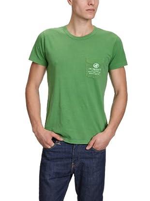 JACK & JONES Camiseta (Verde)