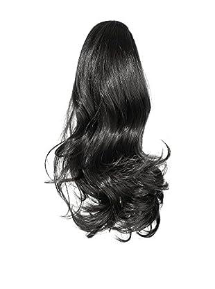 Love Hair Extensions Kunsthaar-Pferdeschwanz Percilla mit Krokodilklemme 41 cm 1 Jet Black