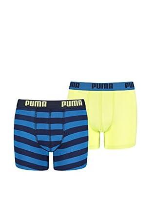 Puma 4tlg. Set Boxershorts Stripe Print