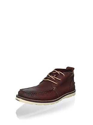 Kenneth Cole REACTION Men's Face Facts Chukka Boot (Red)