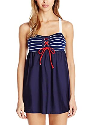 Nautica Strandkleid Classis Stripe Swim Dress