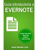 Guía introductoria a Evernote (Spanish Edition)