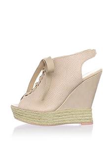 Luxury Rebel Women's Carlos Wedge Sandal (Blush)