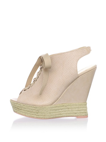 Luxury Rebel Women's Carlos Wedge Sandal (Blush)