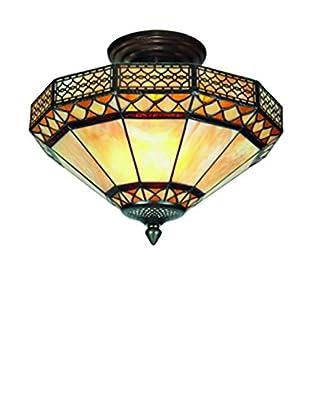 SULION Lámpara De Techo Marrón/Ocre