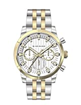 Giordano Analog White Dial Men's Watch - A1025-55