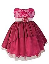 Faye Fuchsia Celebration Dress 12-18 Months