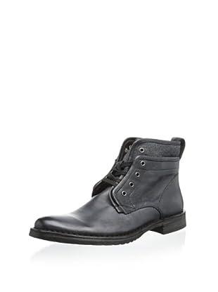 John Varvatos Men's Driggs Hidden Lace Boot (Coal)