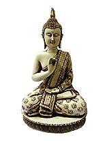 """craft store india Hand Made Resin Buddha Idol 10""""x5"""""""