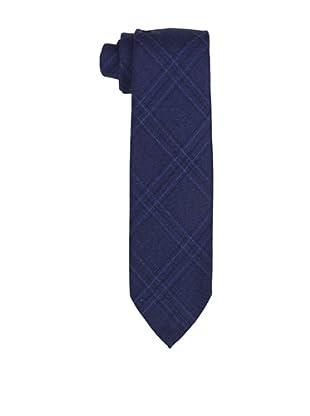 Desanto Men's Crisscross Scozia Tie, Blue