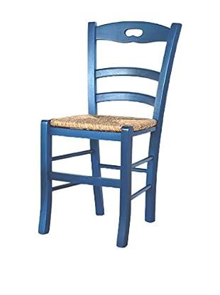 TINKEE Set Silla 2 Uds. Siena Azul