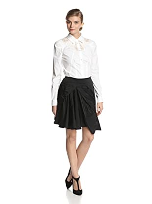 Nina Ricci Women's Radzimir Drape Front Skirt (Black)