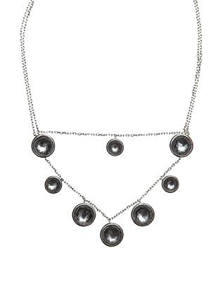 Luxenter Collar Dakika Hematite Cristal Roca