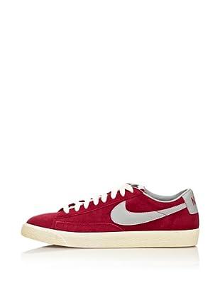 Nike Zapatillas Blazer Low Premium Vntge Suede (Rojo / Gris)