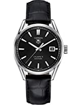 Tag Heuer Carrera Calibre 5 Leather Mens Watch War211A.Fc6180