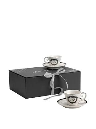 Amadeus Caja 6 Tazas Café Expreso N°8 Porcelana