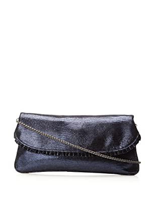 Inge Christopher Women's Donatella Flap Clutch (Midnight Blue)
