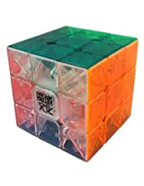YJ Yulong 3x3 Transparent Speed cube puzzle