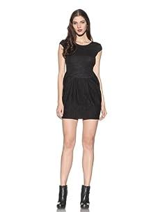 Kova & T Women's Hanna Cap Sleeve Dress (Black)
