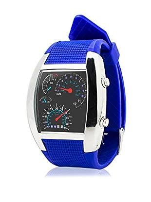 F&P Reloj Led Rpm Azul